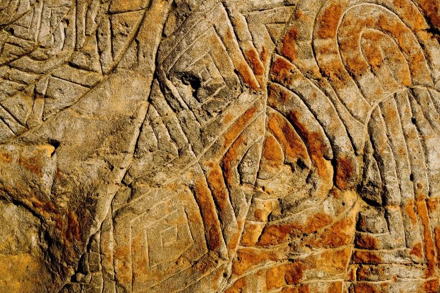 Birrarung Marr rock art photo by Tourism Victoria