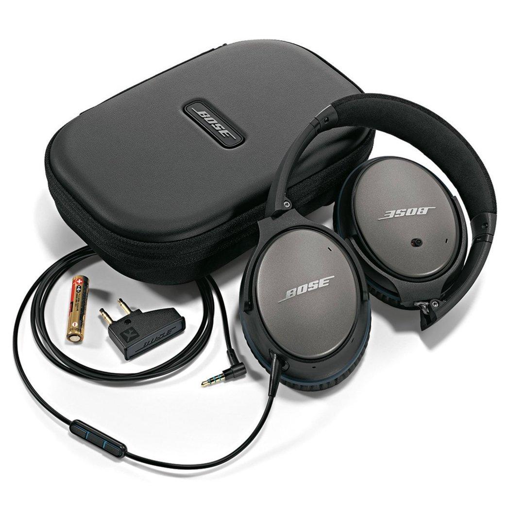 Bose noise cancelling headphones product shot