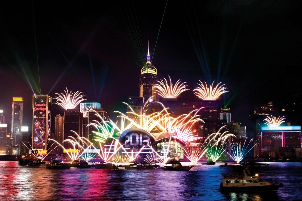 Hong Kong Fireworks