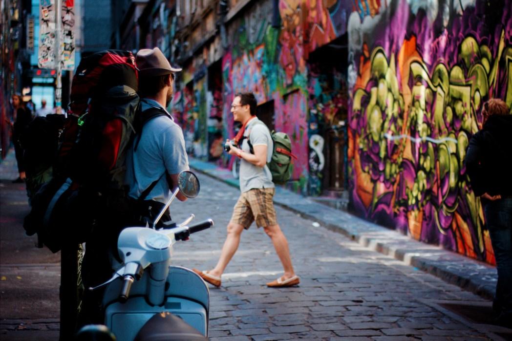 Hosier Lane Photo by Tourism Victoria