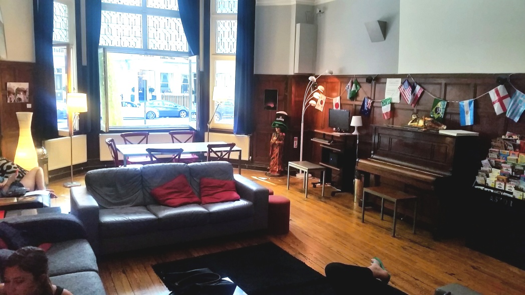 Interior view of Astor Hyde Park Hostel
