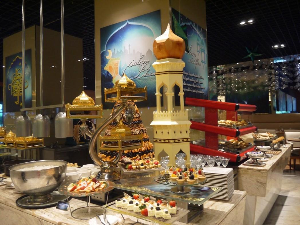 A Ramadhan theme buffet spread