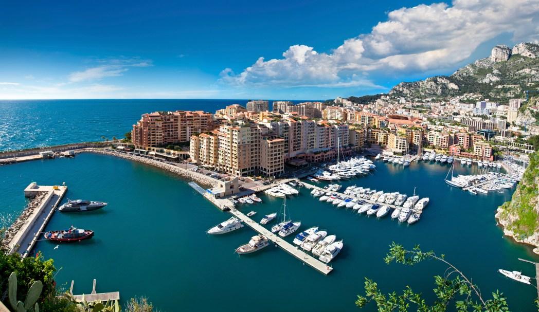 The city of Monaco.