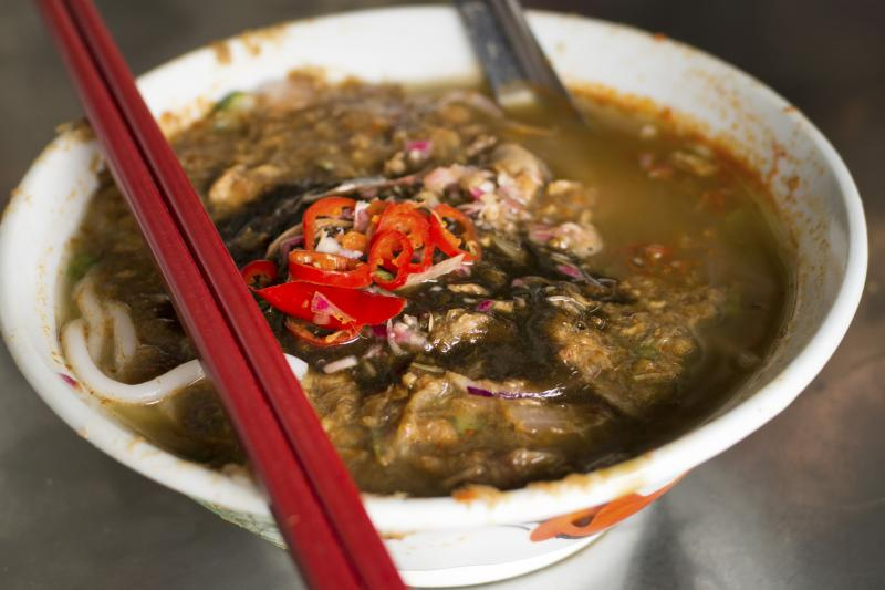 Asam Laksa is an iconic Malaysia fish stew