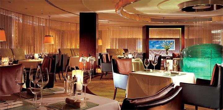 Shangri-la's Lafite Restaurant.