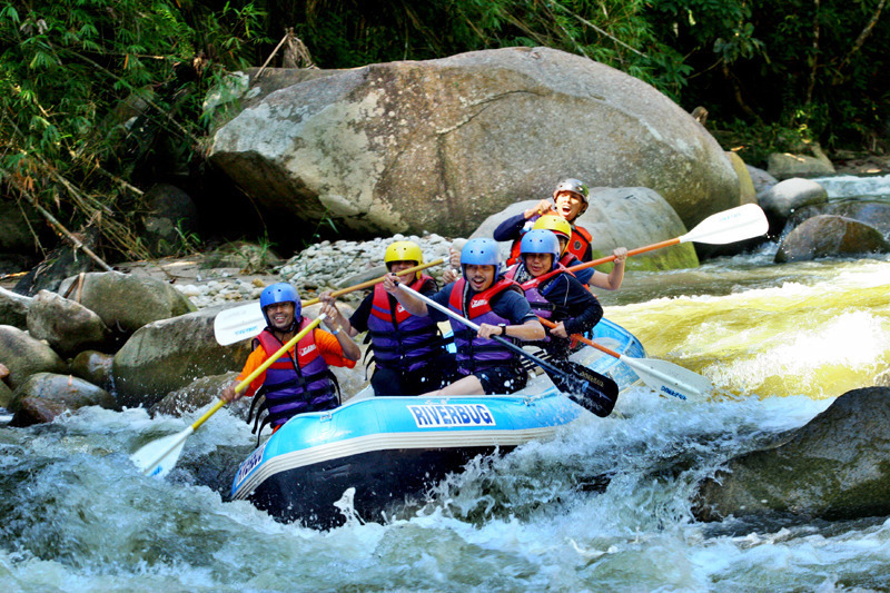 Gentle but not boring:The Kampar River