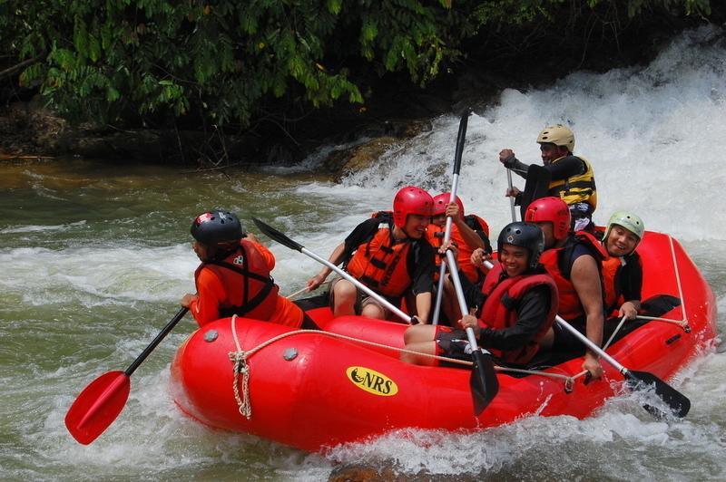 Rafting the Lower Selangor