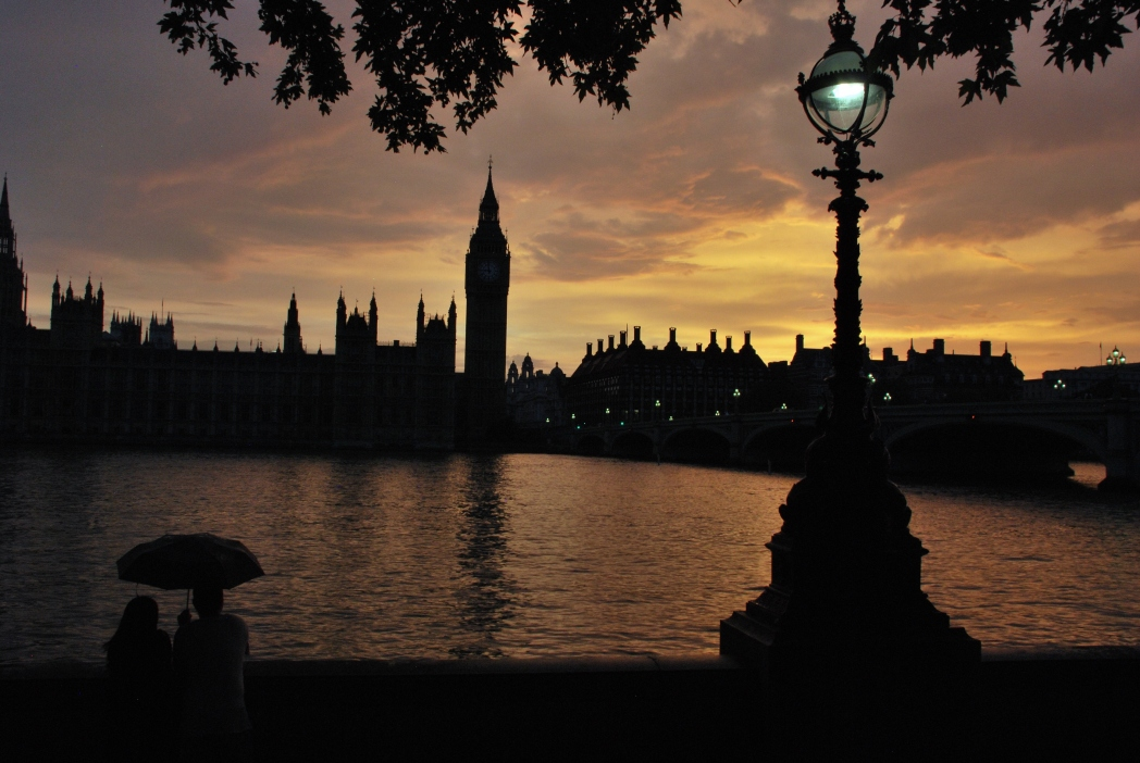 A view of South Bank during the golden hour