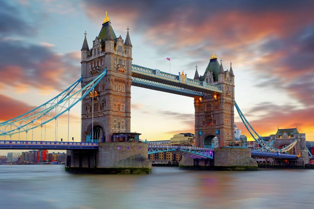 the majestic Tower Bridge